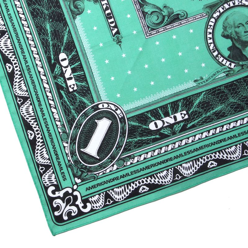 MONEY BANDANA GREEN BOX