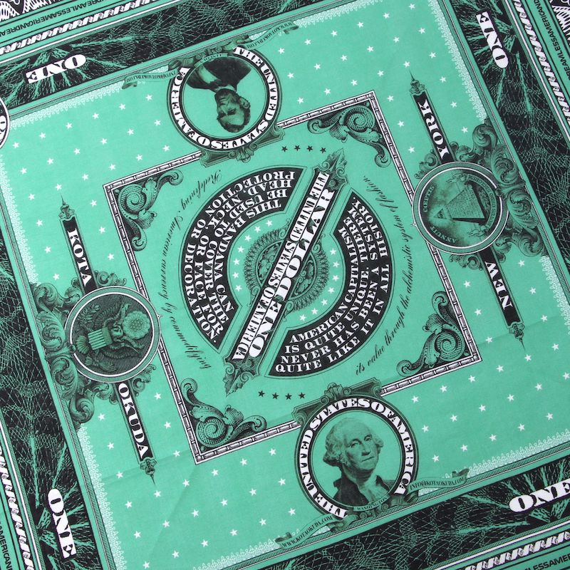 MONEY BANDANA (GRN)