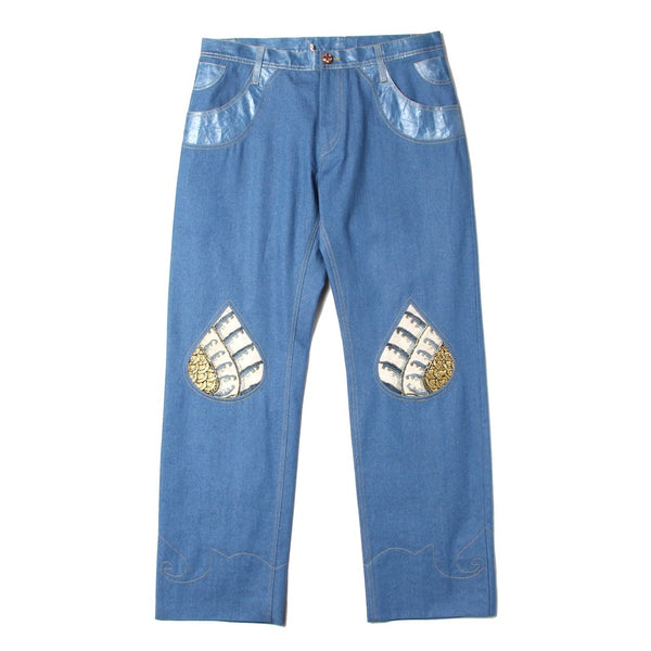 DENIM PANTS (DP-01-SS21) INDIGO
