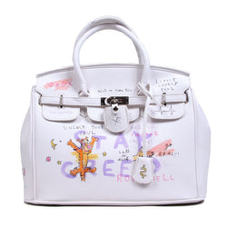 ANARCHY HAND BAG (WHT)