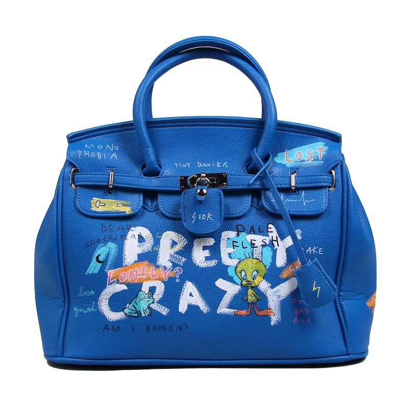 ANARCHY HAND BAG (BLU)