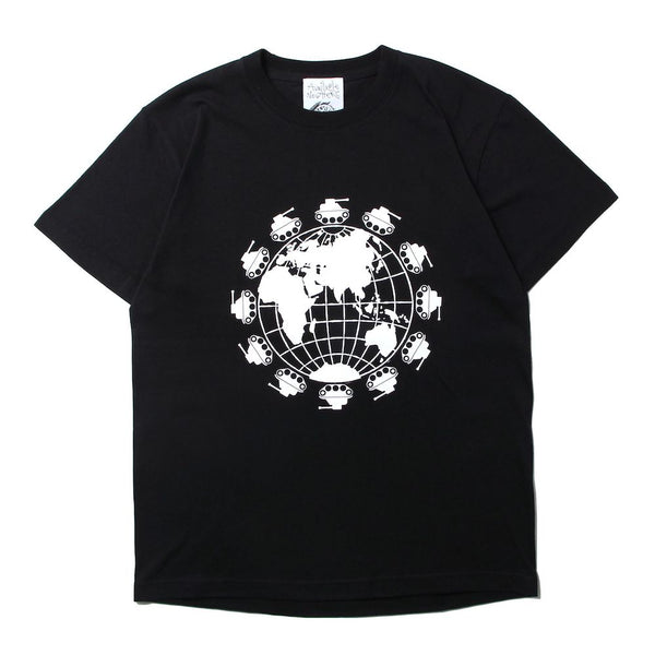 WORLD PEACE NOW TEE (BLK)