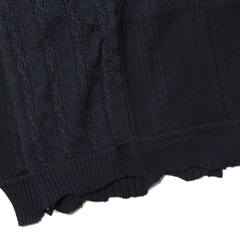 NOT TURTLENECK SWEATER? (sk.0001SS21) black