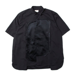 MISSHAPED SHIRT (OA-SS21-SHR-103-01) MULTIPLE BLACK