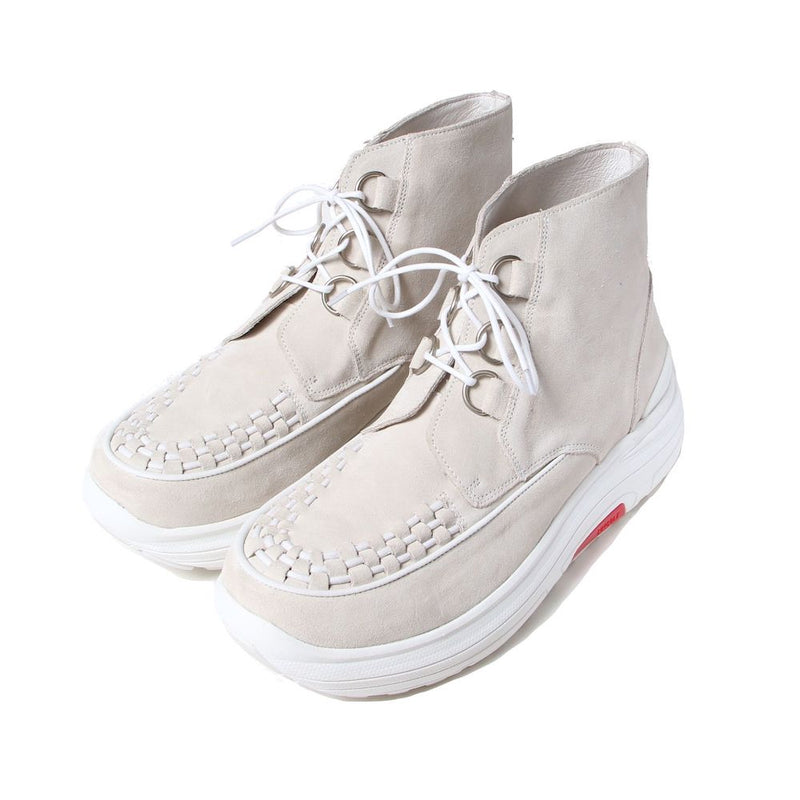 × SUVSOLE Limited Brothel Creepers (WHT)