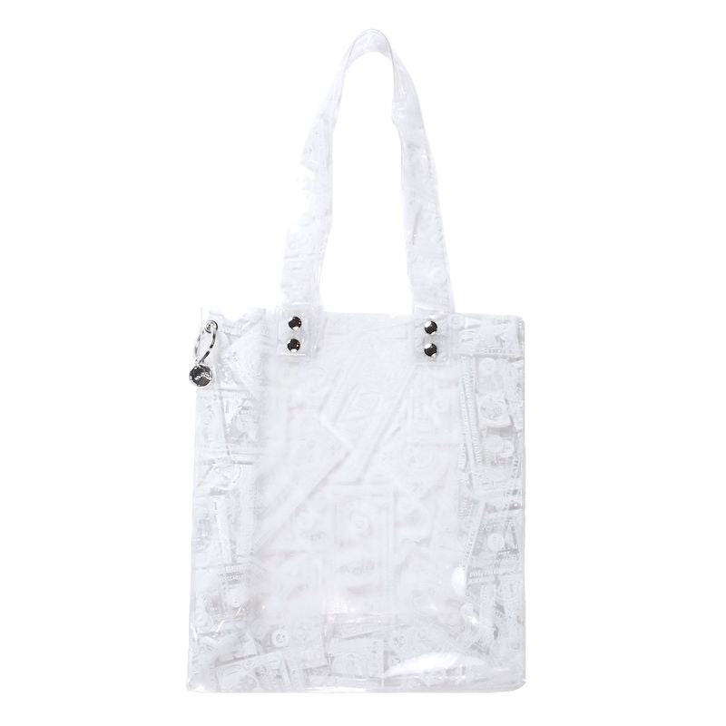BILLS PRINT PVC TOTE (CLR)