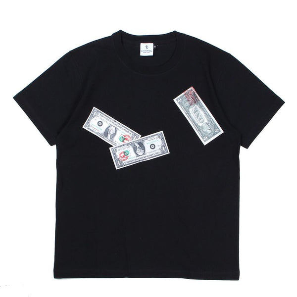 FLUTTER BILLS T-SH (BLK)