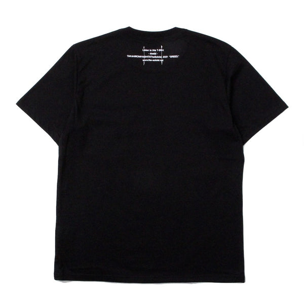 GREED. S/S TEE (sc.0079SS21) black