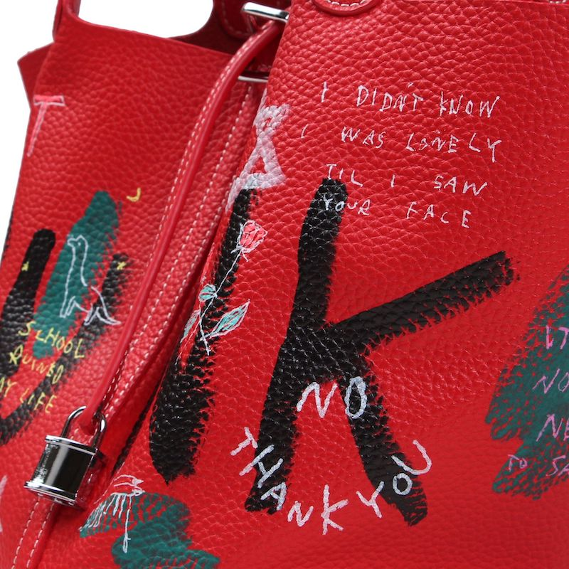 ANARCHY CUBE BAG (RED・L)
