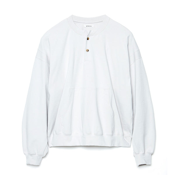Henry Neck Sweat Shirt (M211-0602) Light Gray