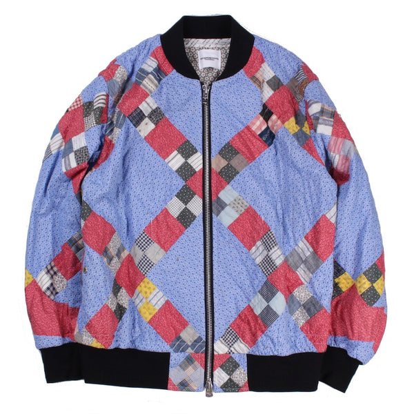 vintage quilt flight jacket (IMG)