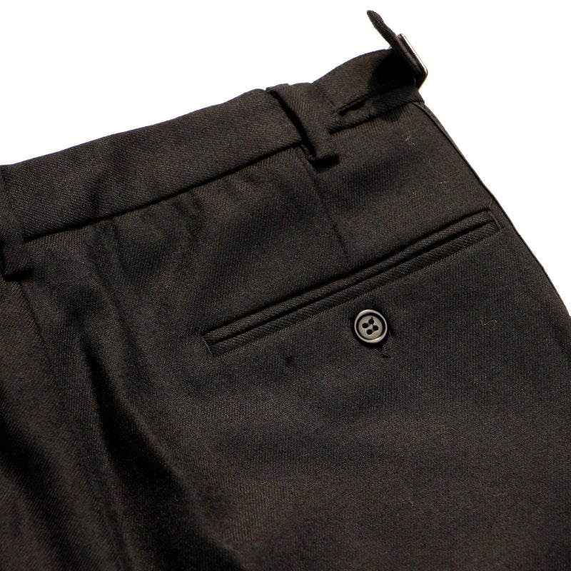 PLEAT-RIOT TROUSERS (BLK)