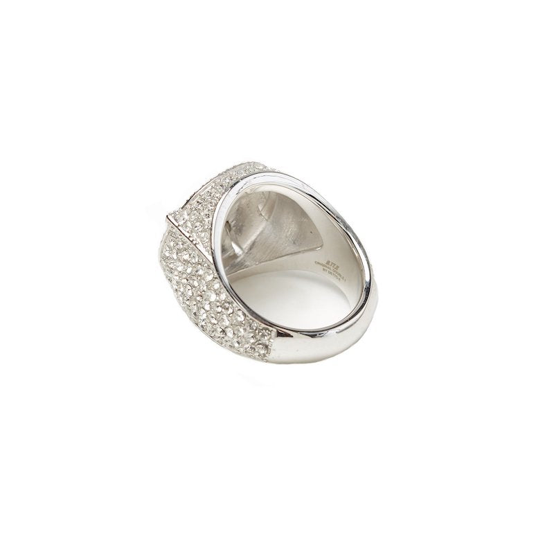 TT PAVE RING (SIL)