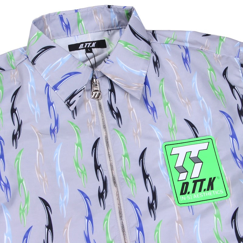 ZIP TRIVAL SHIRTS (GRY)