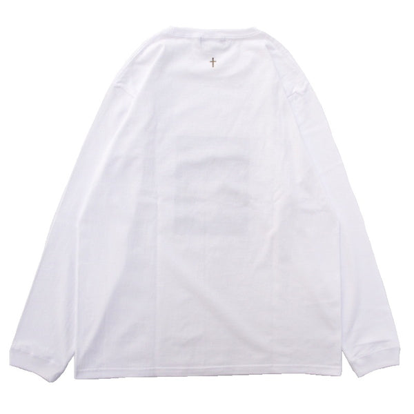 Photo Print LS T-shirt (WHT)