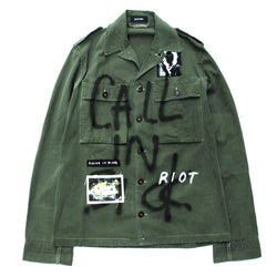 Custom Military Shirt (KHK)