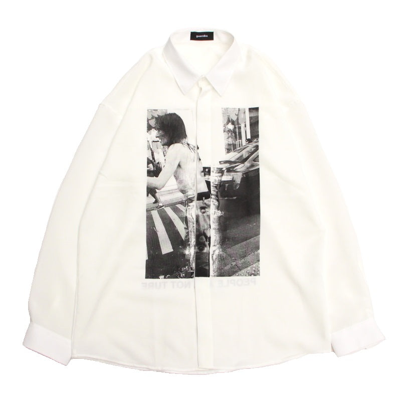 ANARCHY DRESS SHIRT (WHT)