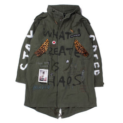 Custom Military Mods Coat (KHK)