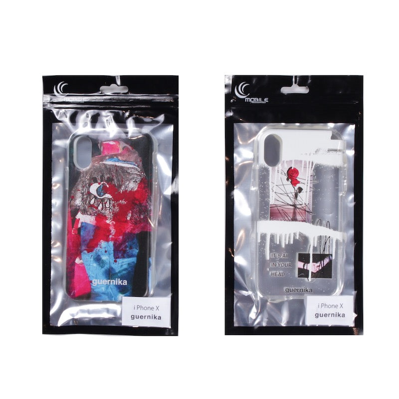 iPhone Case (BLK/CLR)