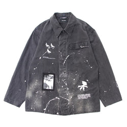 Custom Military Shirt (BLK)