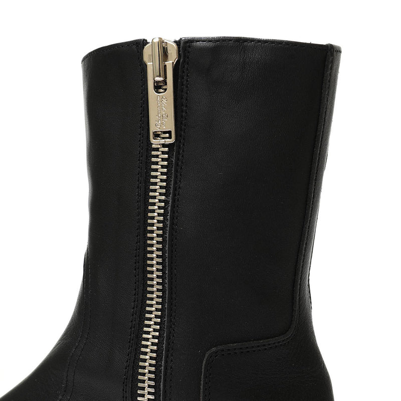 ZIP LONG BOOTS (BLK)