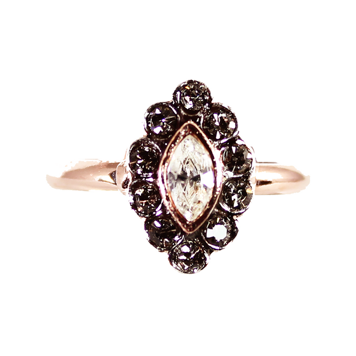 Bright Crystal Ring