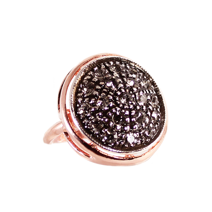 Round Crystal Ring
