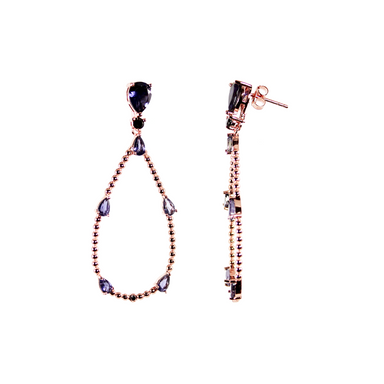 Iolite Drop Earrings