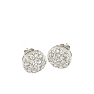 Large Multi Round Stud Earrings