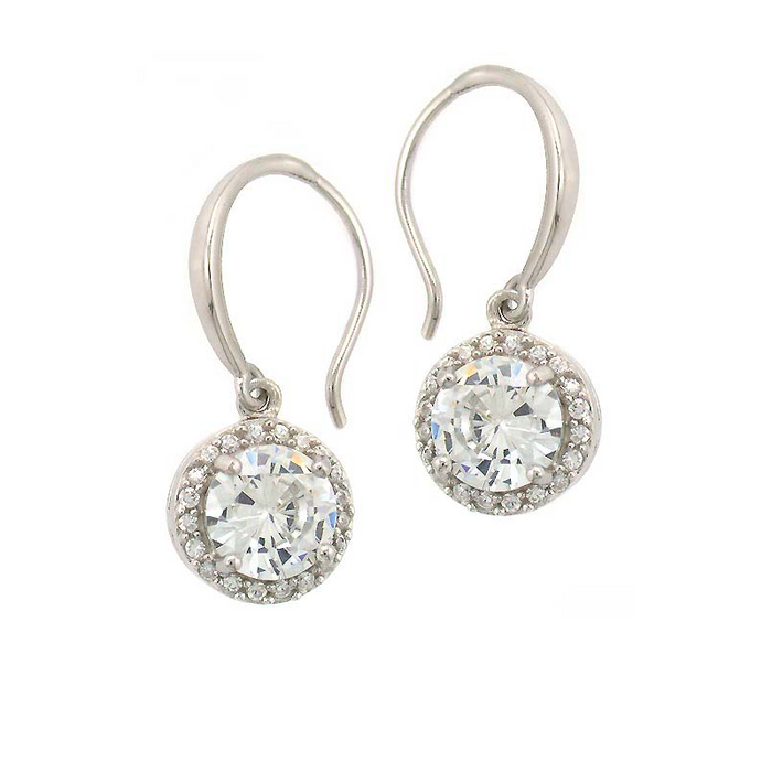Morden Round Drop Earrings