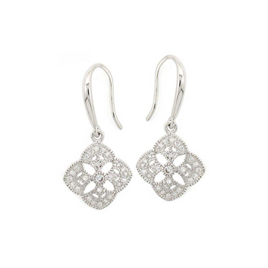 Flower Cut-Out Earrings