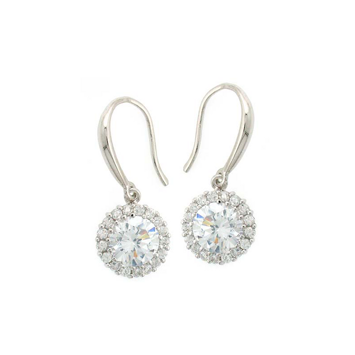 Classic Round Drop Earrings