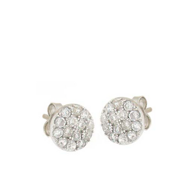 Classic Round Stud Earrings