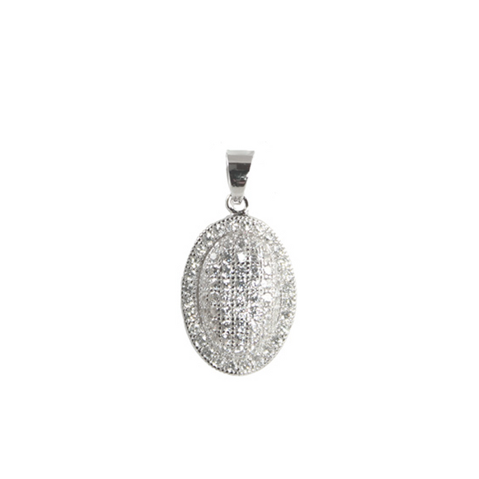 Domed Oval Pendant