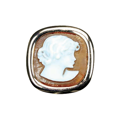 Lady's Head Cameo Ring