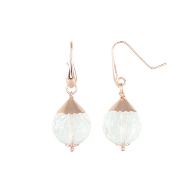 Crystal Single Drop Earrings