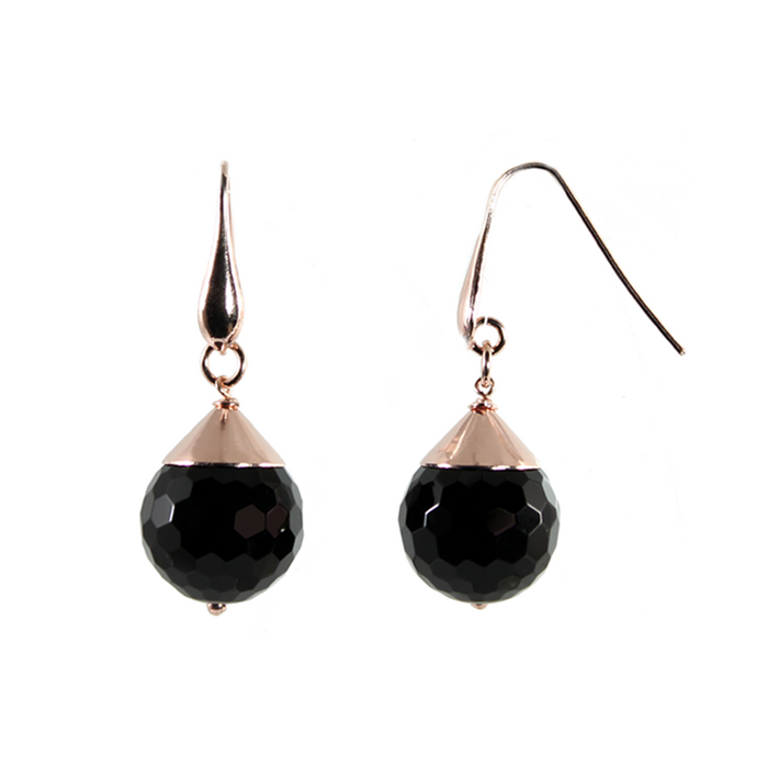 Onyx Single Drop Earrings