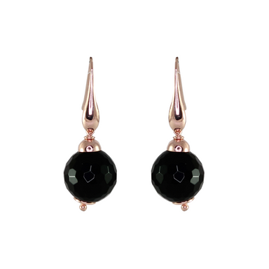 Onyx Single Drop Earrings (Small)
