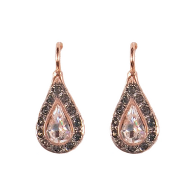 Bright Crystal Teardrop Earrings
