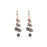 Labradorite 3 Strand Drop Earrings