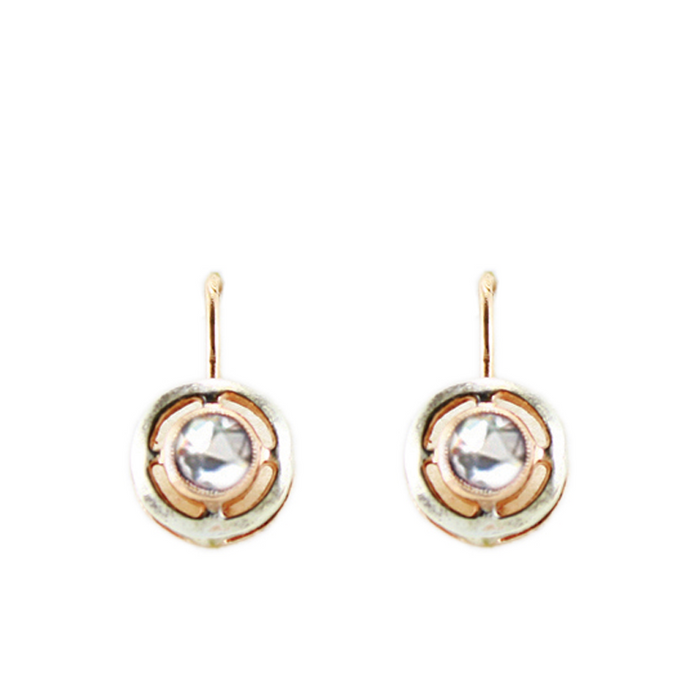 Bright Crystal Earrings (Lever)