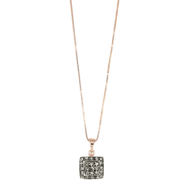 Crystal Square Pendant