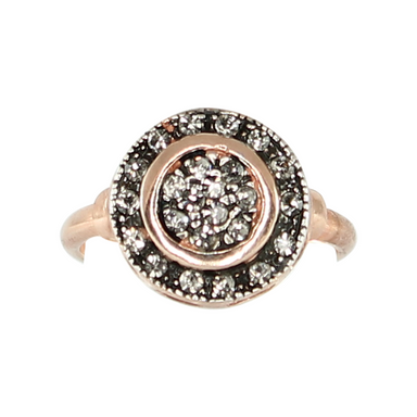 Crystal Disc Ring