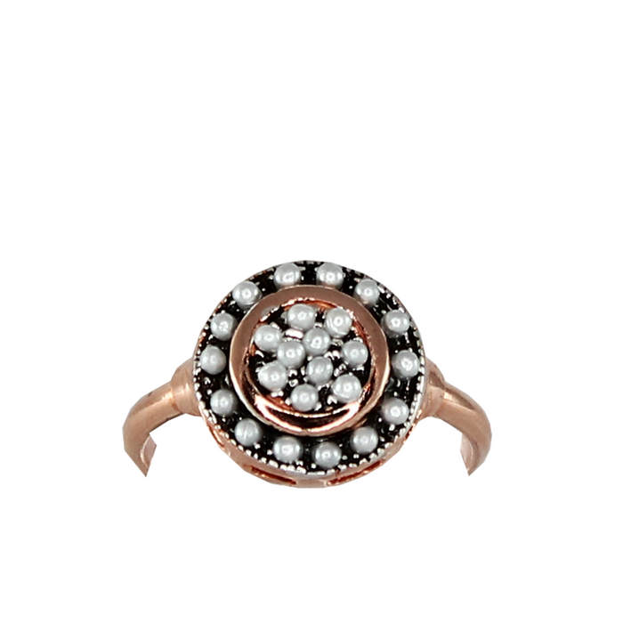 Pearl Disc Ring