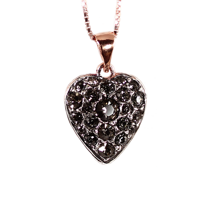 Crystal Heart Pendant