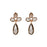 Smokey Triple Drop Earrings