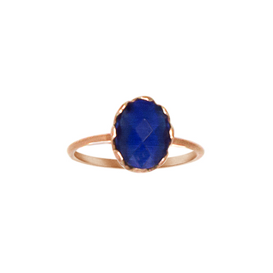 Blue Gemstone Ring