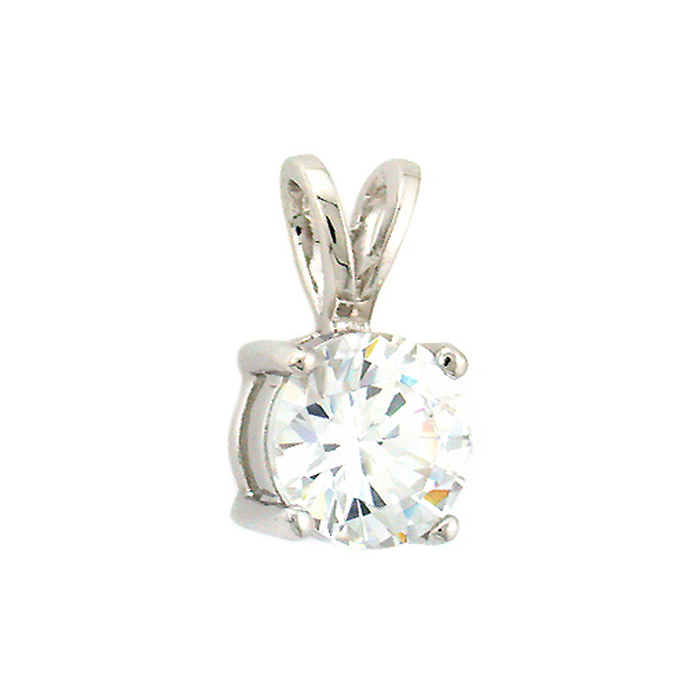 Medium Solitaire Pendant