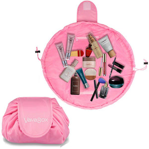 Lazy Makeup Bag Quick Pack Waterproof(Pink)