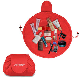 Lazy Makeup Bag Quick Pack Waterproof(Red)
